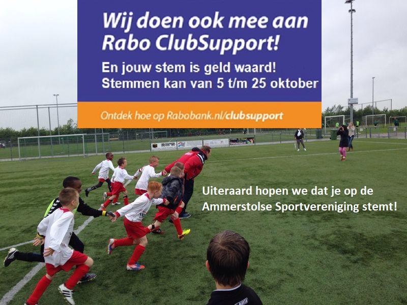 Rabo Clubsupport stopt 25 oktober